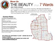 Show Us THE BEAUTY of our 7 Wards 2021 Photo Contest