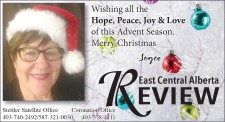 Wishing all the Hope, Peace, Joy and Love from ECA Review