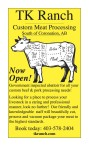 Government inspected abattoir for all your custom beef & pork processing needs!
