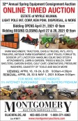 32nd Annual Spring Equipment Consignment Auction