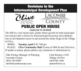 PUBLIC OPEN HOUSE (and you're invited)