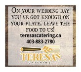ON YOUR WEDDING DAY YOU'VE GOT ENOUGH ON YOUR PLATE