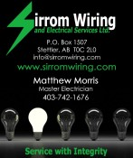 Sirrom Wiring and Electrical Services