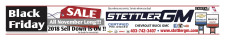 Stettler GM Black Friday  SALE