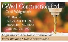 CeWal Construction