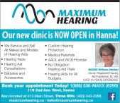 Our new clinic is NOW OPEN in Hanna!