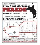 10th Annual STETTLER STEEL WHEEL STAMPEDE PARADE