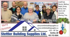 Merry Christmas from Stettler Building Supplies
