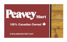 Peavey Mart is 100% Canadian Owned
