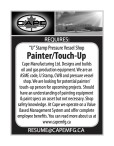 'U' Stamp Pressure Vessel Shop Painter/Touch-Up wanted