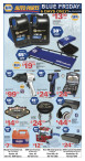 NAPA AUTO PARTS  BLUE FRIDAY