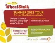 WheatStalk SUMMER 2021 TOUR