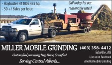 Call Miller Mobile Grinding for our reasonable rates!