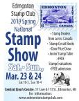 Edmonton Stamp Club 2019 Spring National Stamp Show