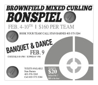 BROWNFIELD MIXED CURLING BONSPIEL