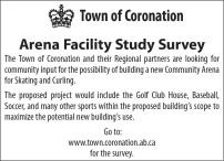 Town of Coronation Arena Facility Study Survey