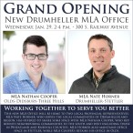 New Drumheller MLA Office Working together to serve you better