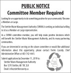 Committee Member Required