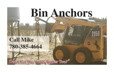 Don't Let The Winds Bother You with Bin Anchors