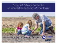 Don't let CRA become the unwanted beneficiary of your farm!