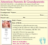 Attention Parents & Grandparents