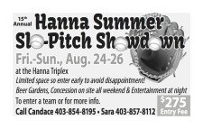 15th Annual Hanna Summer Slo-Pitch Showdown