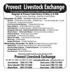 The Livestock Market Serving Eastern Alberta and Western Saskatchewan