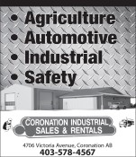 CORONATION INDUSTRIAL SALES & RENTALS