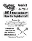 2018 Lacrosse season is now Open for Registration!!