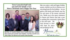 Town Council & Staff wish you and your family a very Merry Christmas