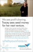 We see profit sharing.