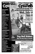 20th Annual White Lightning Dodge Professional 2018  Cowboy Crunch