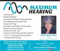Maximum Hearing