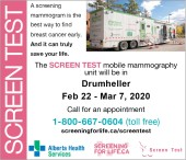 A screening mammogram is the best way to find breast cancer early.