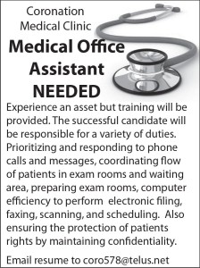 Medical Office Assistant Needed