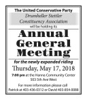 United Conservative Party Annual General Meeting