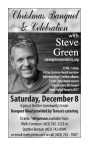 Christmas Banquet & Celebration with Steve Green