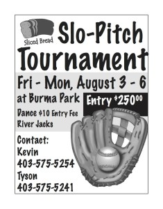 Sliced Bread Slo-pitch Tournament