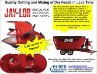 Quality Cutting and Mixing of Dry Feeds in Less Time