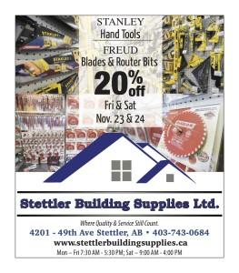 Stettler Building Supplies Ltd.  Where Quality & Service Still Count