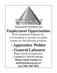 PRISM Employment Opportunities