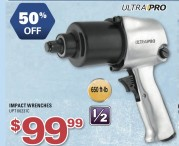 50% OFF ULTRA PRO IMPACT WRENCHES