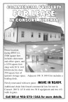 COMMERCIAL PROPERTY FOR LEASE IN CONSORT, ALBERTA