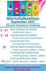 Alberta Culture Days. Discover, Experience and Celebrate.