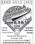 HAND HILLS LAKE Slo Pitch Tournament