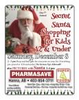 Our 7th Annual Secret Santa Shopping for Kids 12 & Under