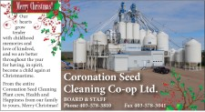 Merry Christmas for Coronation Seed Cleaning
